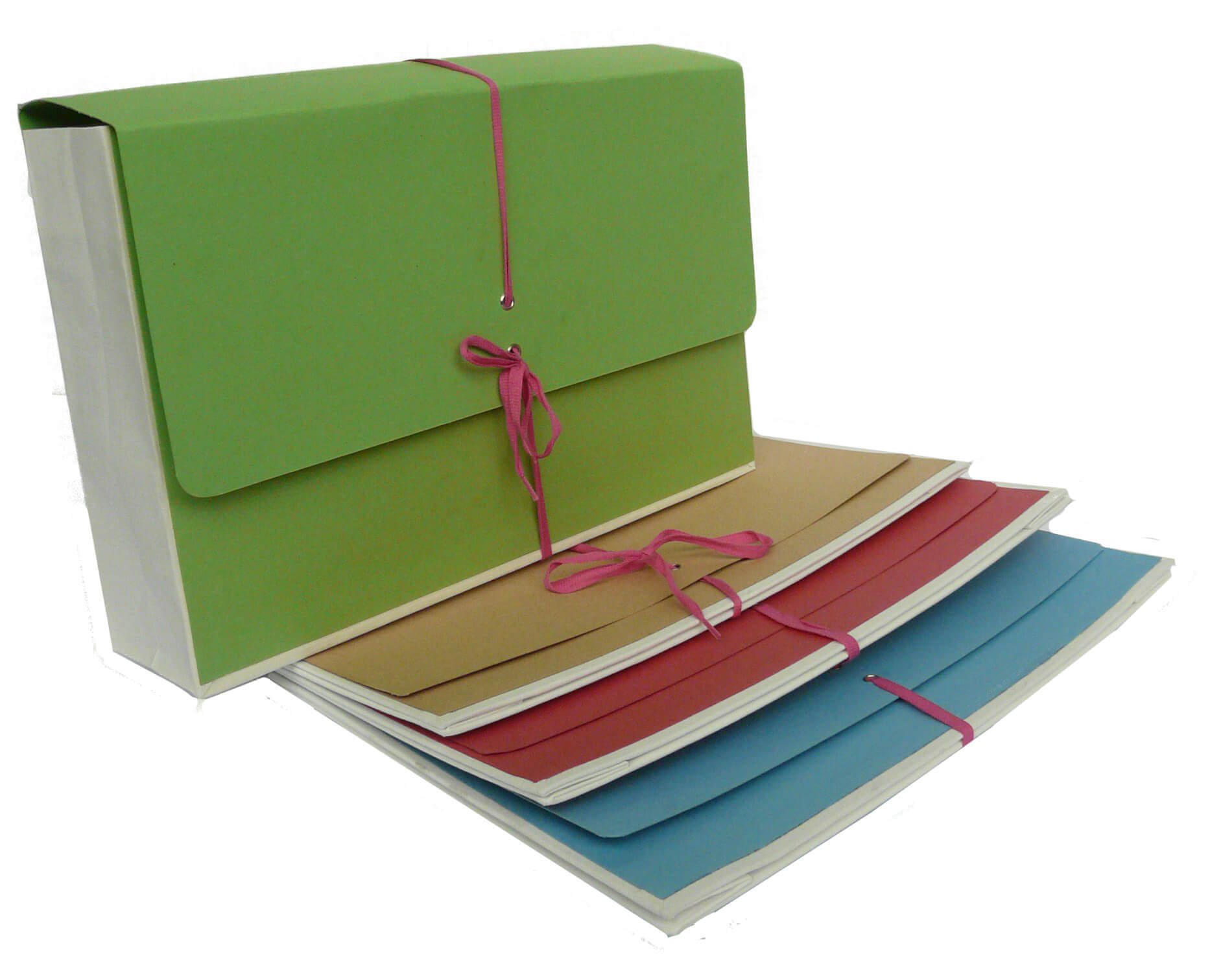 coloured legal folders